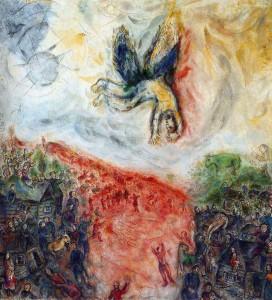 Chagall Marc -La caduta di Icaro
