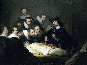 Rembrandt -The_Anatomy_Lesson