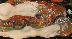 Klimt Gustav -Serpenti d'acqua