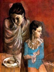 Picasso Pablo - Madre e figlio