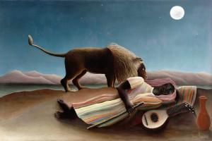 Rousseau Henri-Zingara addormentata