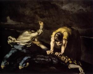 Cezanne Paul _ L'assassinio