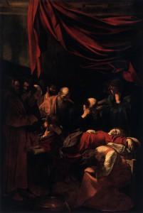 Caravaggio- Morte della vergine