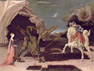 Uccello Paolo - San Giorgio e il drago