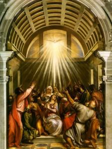 Tiziano - La discesa dello spirito santo