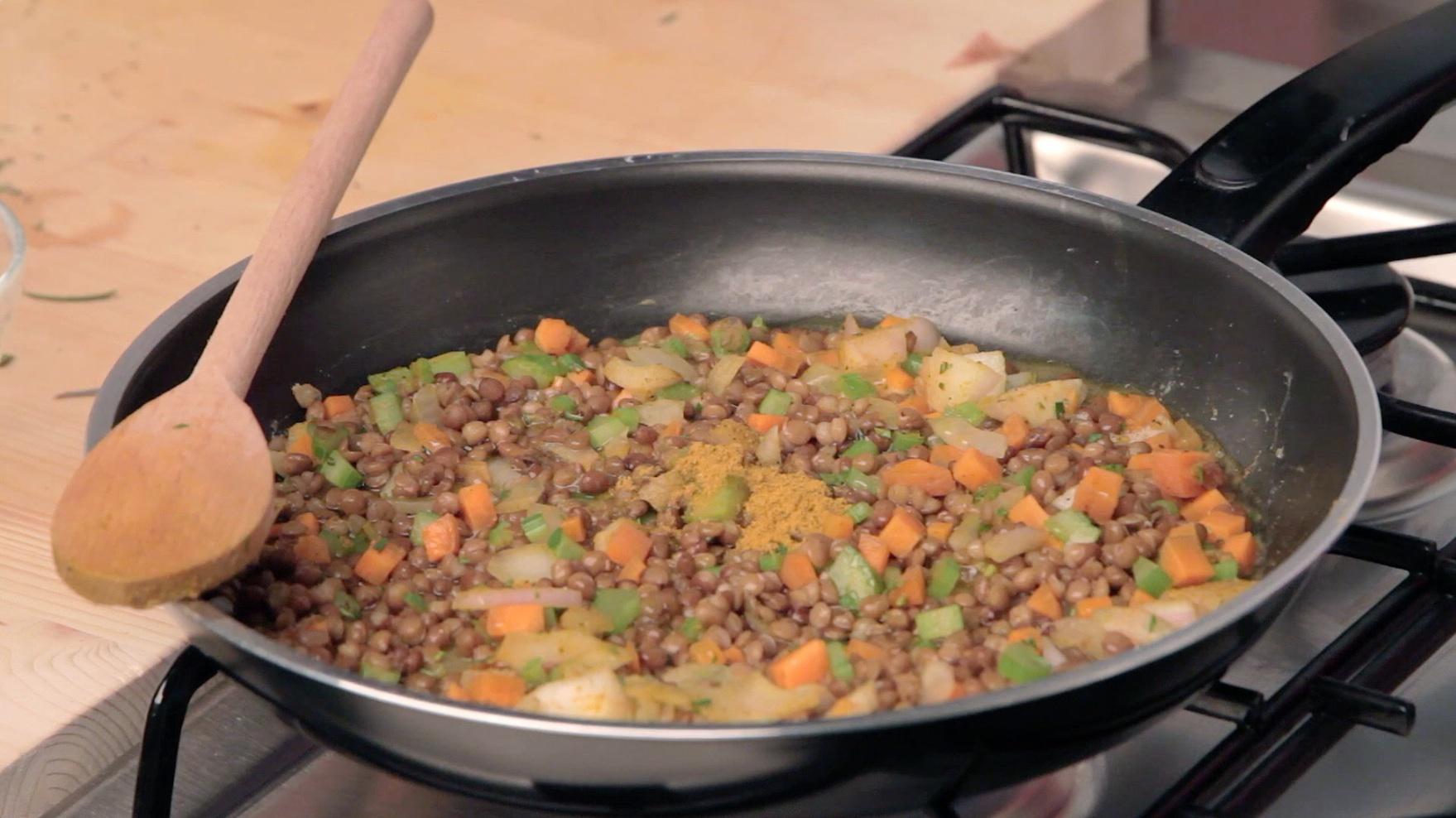 CurryLenticchiePadella