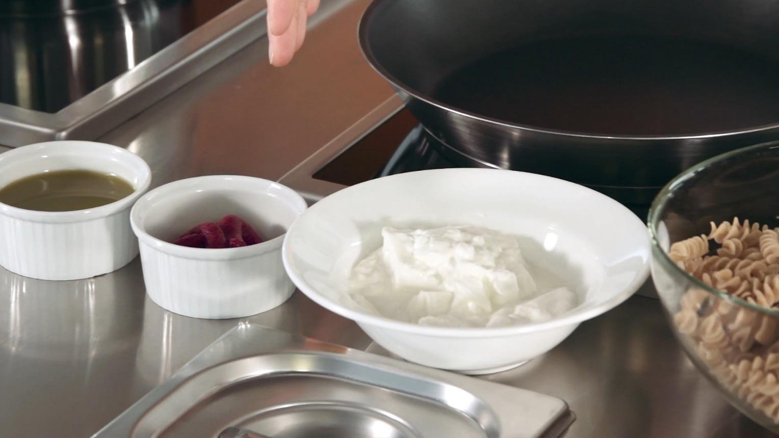 pasta peperoni e caprino 2