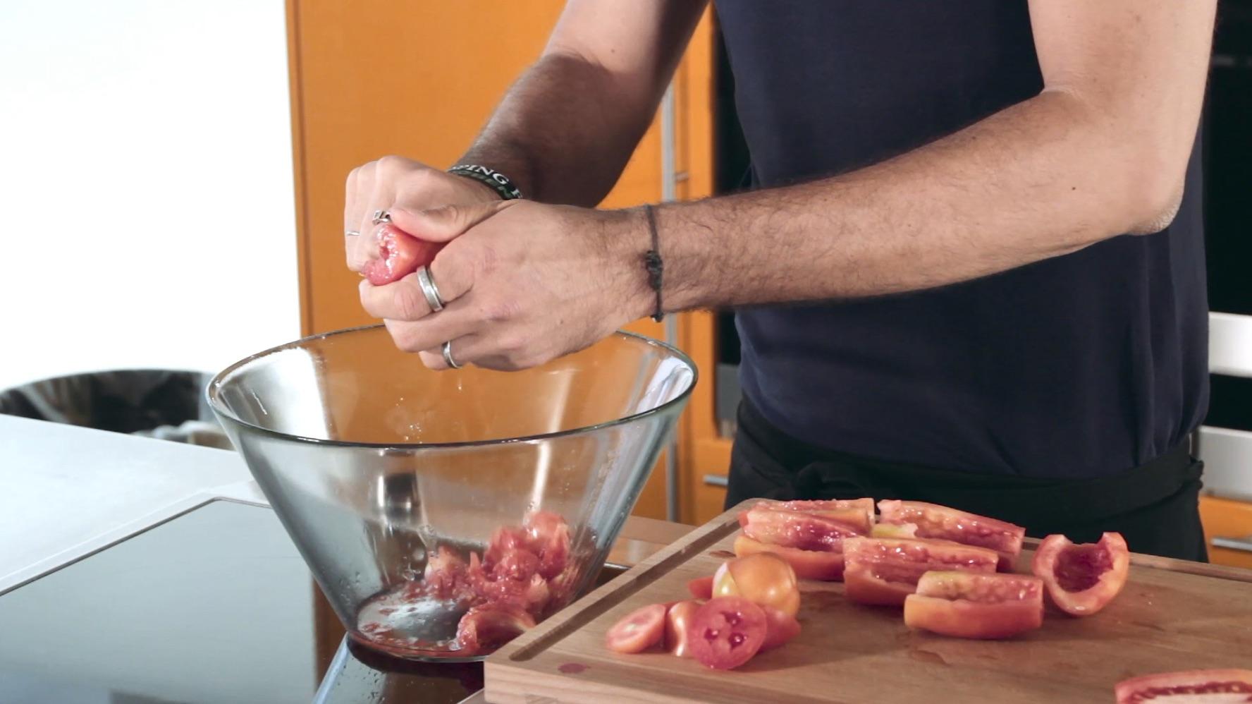 pomodori ripieni di spuma di edamame 4