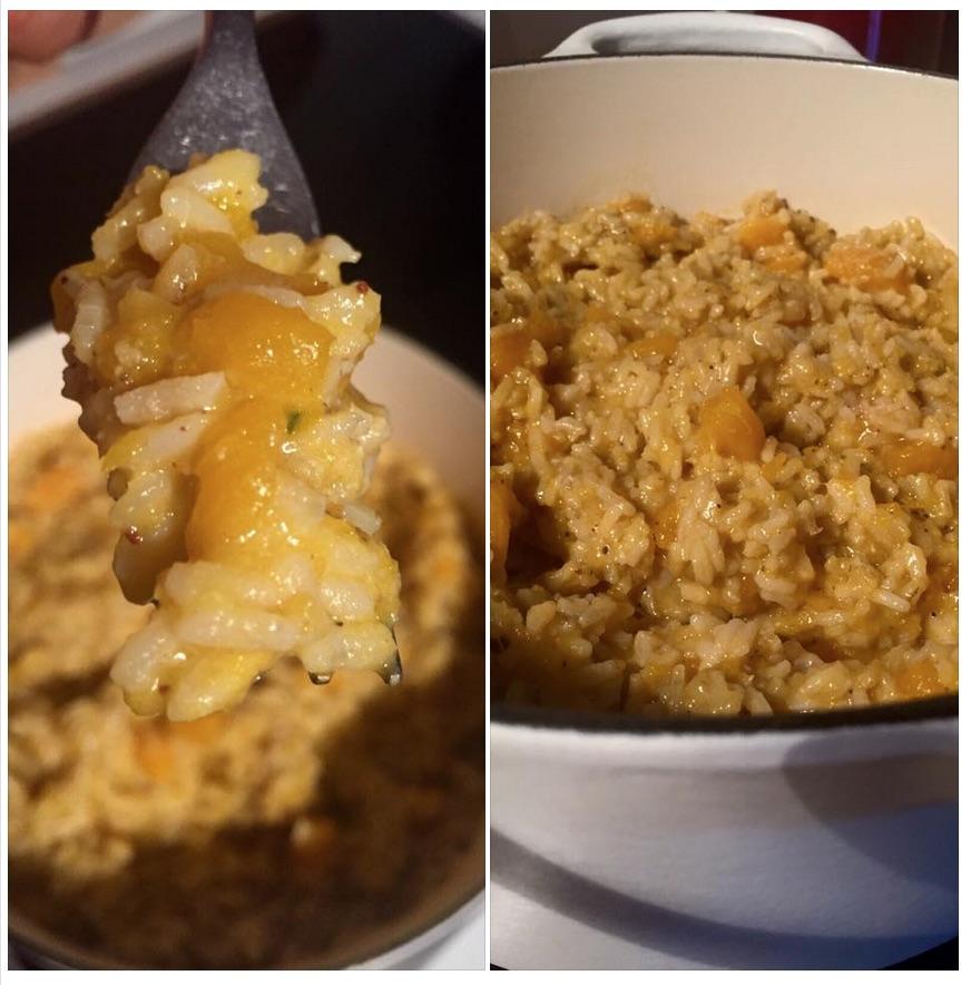 risotto zucca