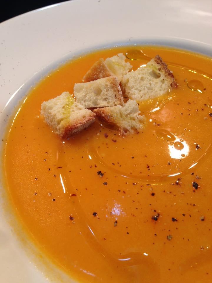 vellutata zucca patate carote