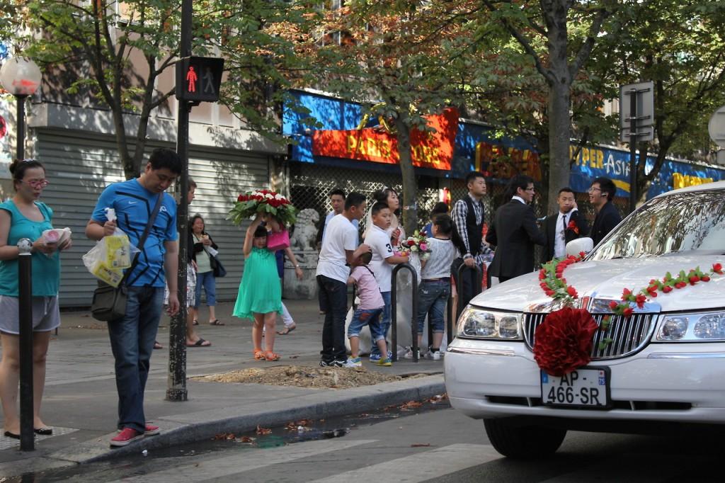 matrimonio cinese Paris