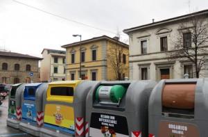 Sistema di differenziata a Firenze