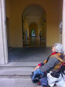 Foto 1 - Accesso Via D'Azeglio negato