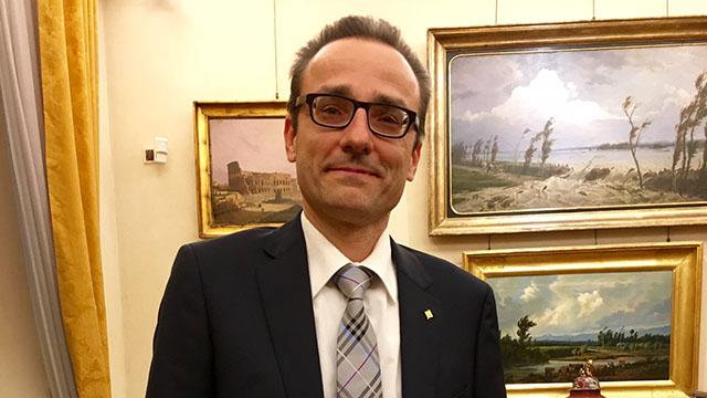 Prof Gino Gandolfi - Presidente Fondazione Cariparma