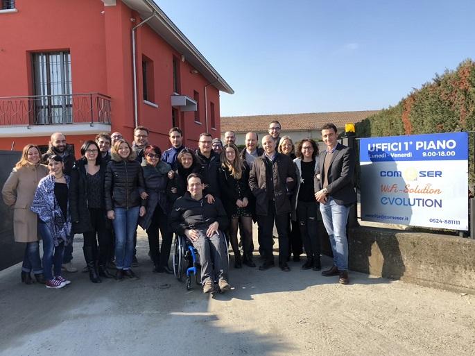 COMeSER Fidenza - foto di gruppo 2018