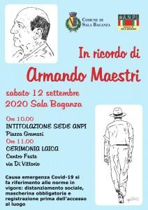 Locandina Armando Maestri
