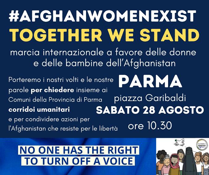 #AfghanWomenExist Together we stand