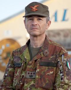 Col. Giuseppe Lucarelli - Cte ITALFOR b