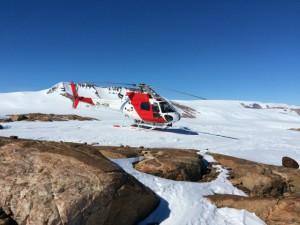 Giorno 53 - elicottero verso l'interno antartico 2