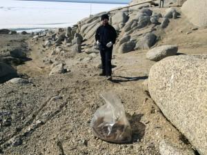 Giorno 53 - raccogliendo rifiuti in Antartide