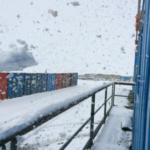 Giorno 66 - nevicata