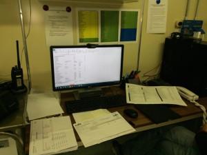 Giorno 80 - compilando liste per la farmacia della stazione