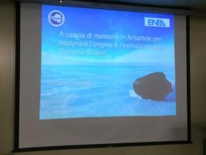 Giorno 83 - seminario meteoriti geologi