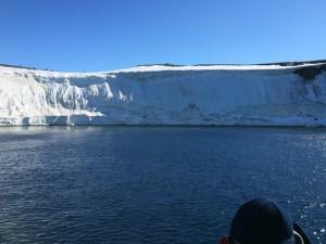 Giorno 84 - la costa antartica vista dal mare