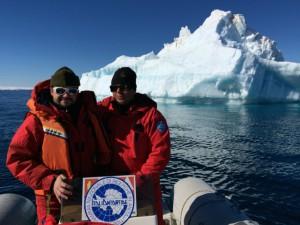 Giorno 88 - nella baia davanti a un iceberg