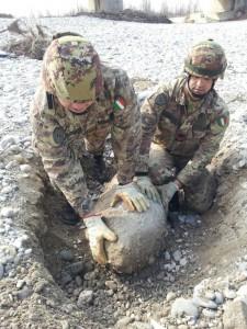 foto n° 1 Bomba d'Aereo da 1000 libbre a Codroipo- Udine