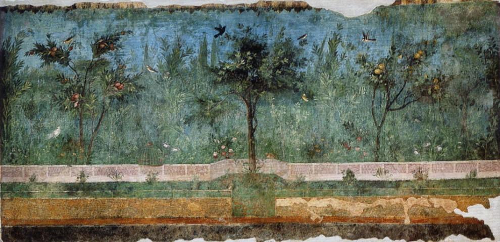 Fresco from Villa of Livia