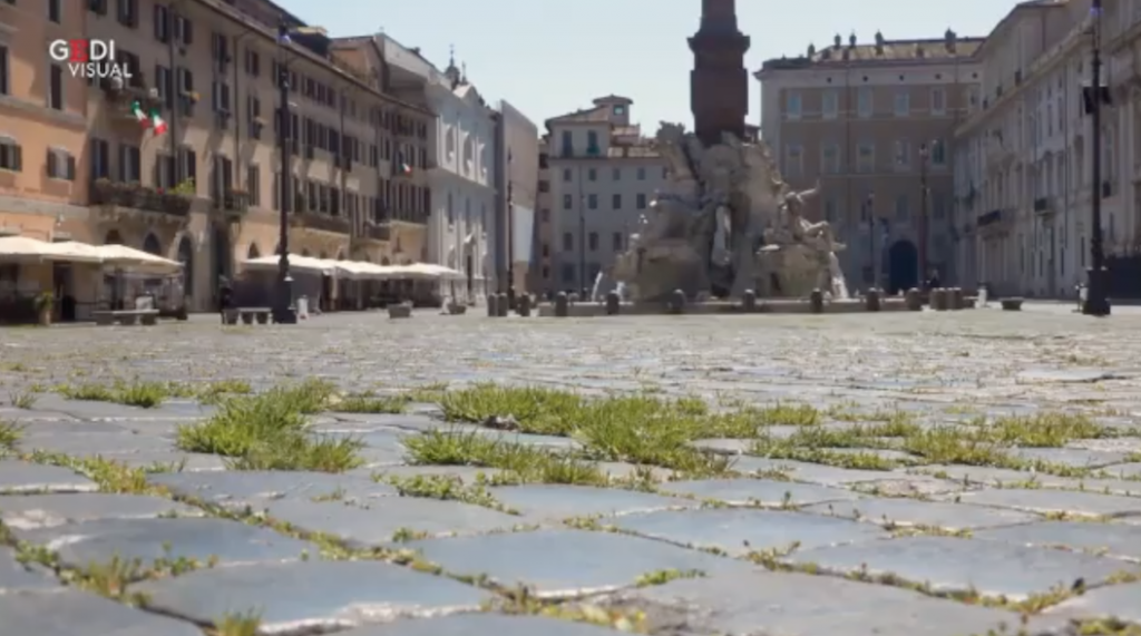 Not my photo of Piazza Navona.