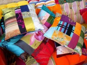 cuscini del riciclo creativo