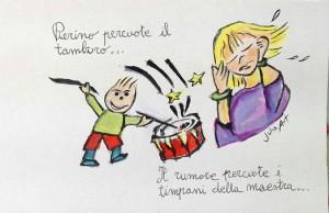 Con una vignetta firmata da l'Enpa lancia una proposta: interpretare il verbo percuotere attraverso disegni cruelty free