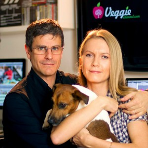 Massimo Leopardi e Julia Ovchinnikova fondatori di Veggie Channel, il più autorevole portale sul lifestyle vegano