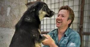 Pen Farthing, serrgente dei Royal Marines, fondatore in Afghanistan dell'organizzazione Nowzad Dogs che negli anni ha salvato migliaia di animali.