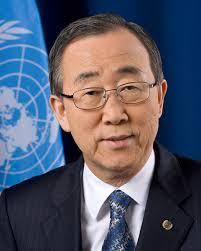 Il Segretario Generale dell'ONU Ban Ki-moon