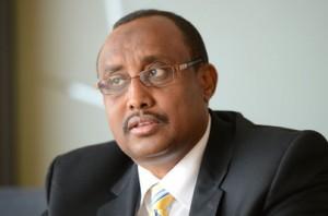 Abdiweli Mohamed Ali detto Gaas, attuale Presidente del Puntland