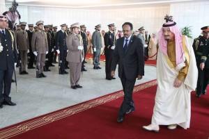 Il Presidente somalo Mohamed A. Mohamed Farmajo in visita di Stato a Re Salman dell'Arabia Saudita