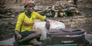 Rifugiata sudanese in Uganda - Fonte MSF 2017
