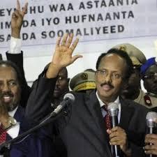 Il Presidente della Repubblica Federale somala Mohamed Abdullahi Mohamed detto Formajo
