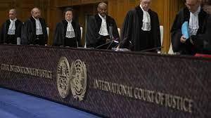 La Corte internazionale di giusizi dell'ONU composta da 15 membri