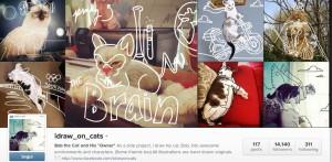 gatti dipinti
