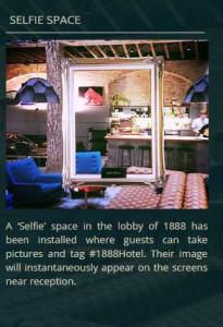 selfie space