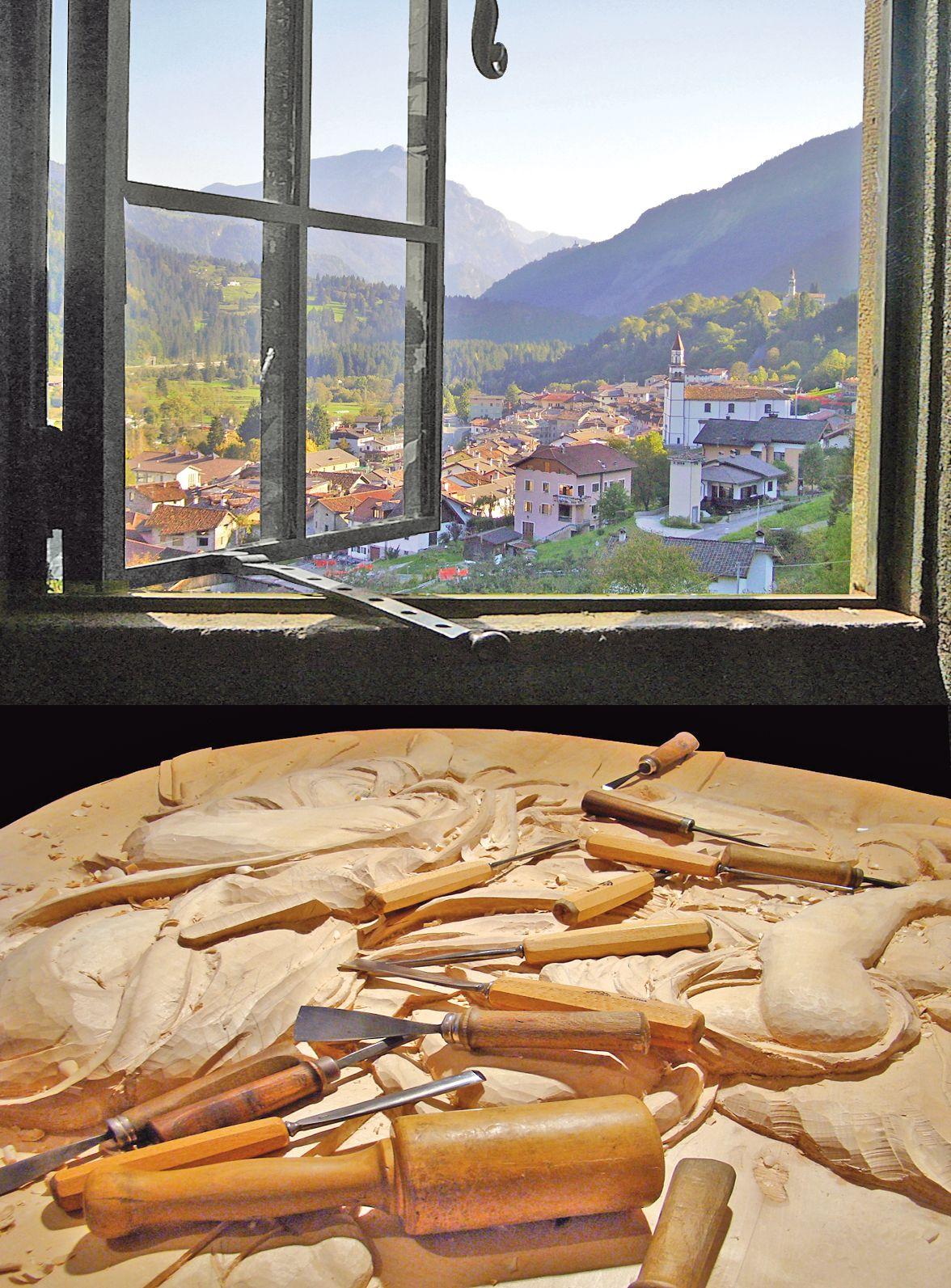 Sutrio - Magia del legno, scultura artigiana in Carnia