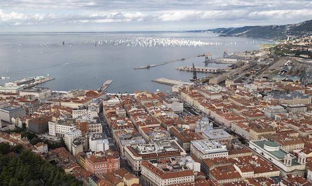 Trieste e il sul golfo - Barcolana2013