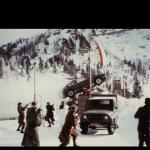 Una scena del film 007 girata a Passo Pramollo, in Friuli Venezia Giulia - immagine tratta dalla app FVG Film Locations
