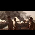 Una scena de Il Paziente Inglese girata nel Porto Vecchio di Trieste - screenshot dalla app FVG Film Locations
