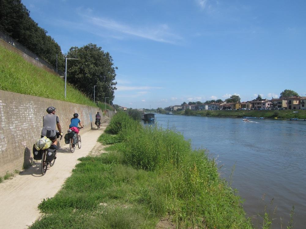 costeggiando il Ticino