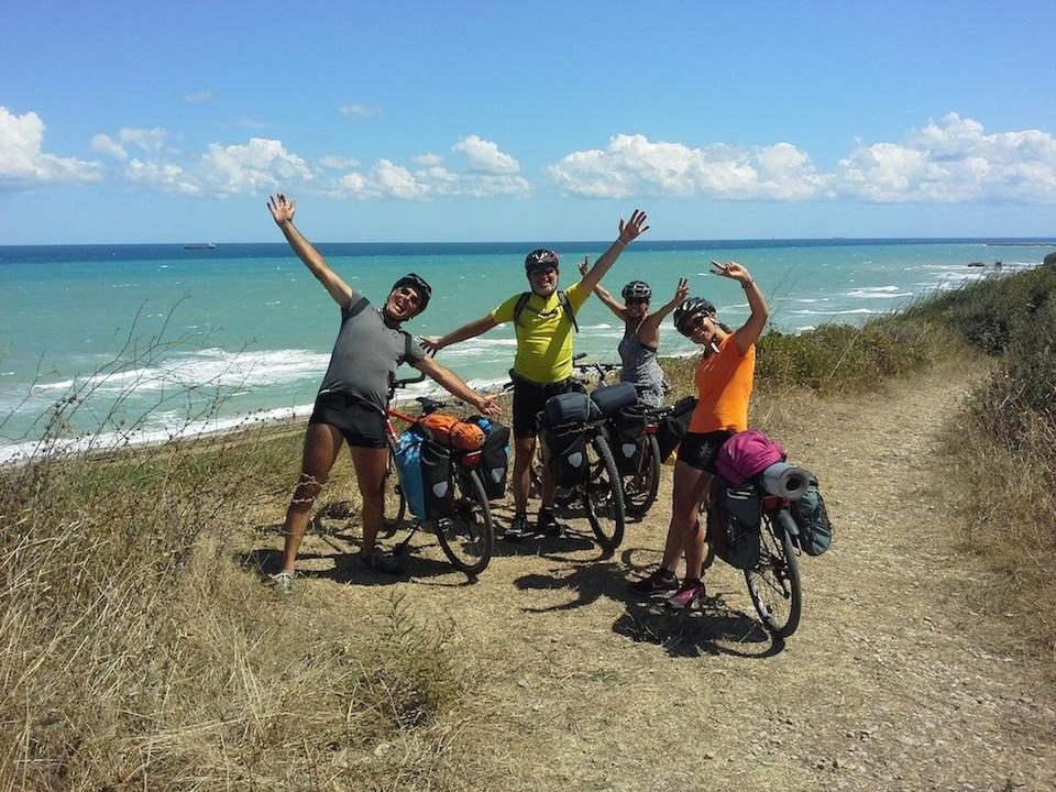 I miei fantastici compagni di viaggio Alberto, Giuseppe, Susanna e Ottavia